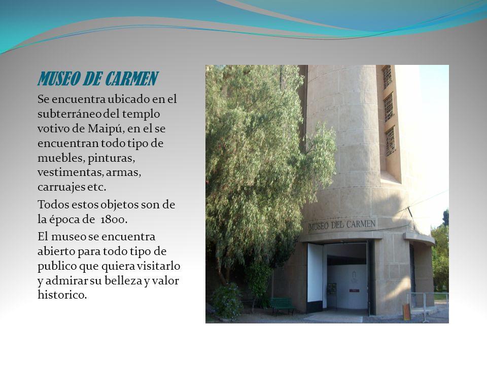 MUSEO DE CARMEN