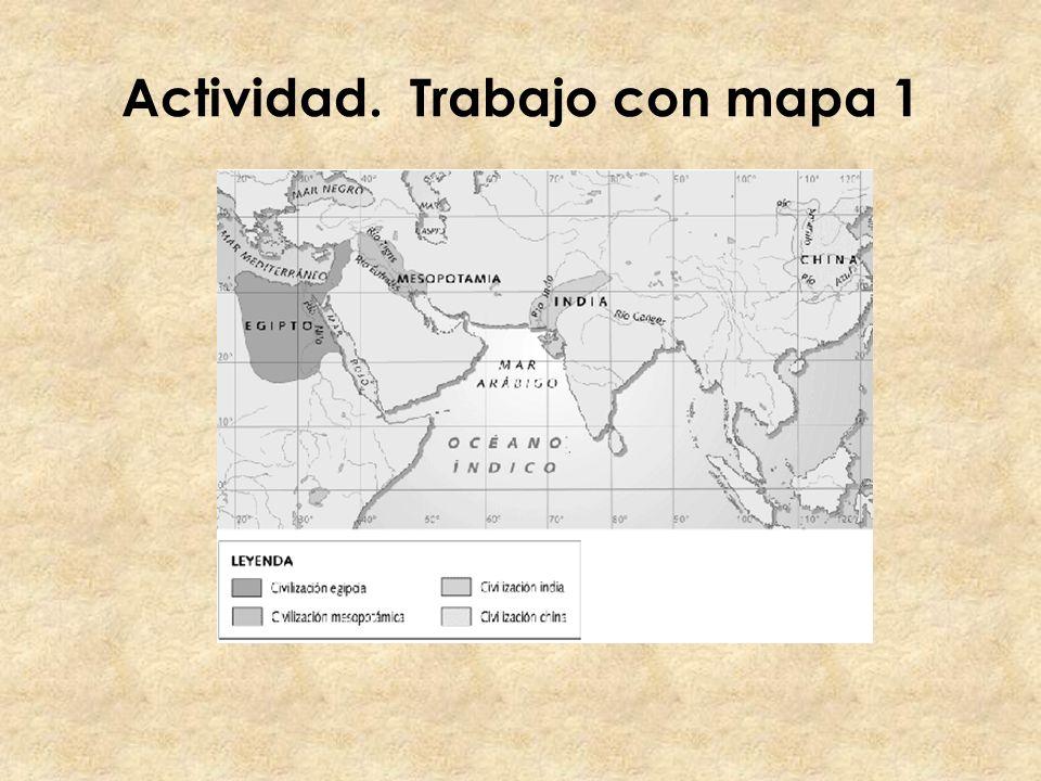 Actividad. Trabajo con mapa 1