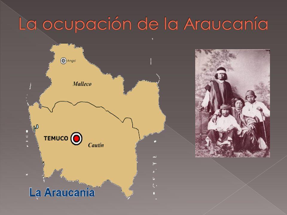 La ocupación de la Araucanía