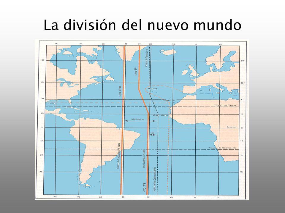 La división del nuevo mundo