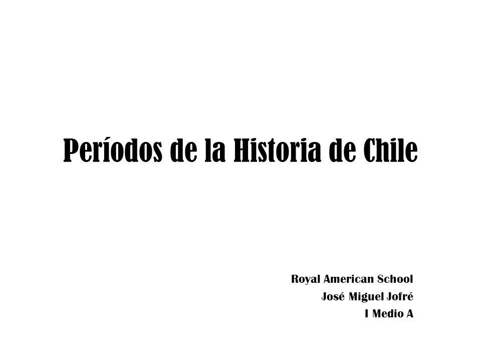 Períodos de la Historia de Chile