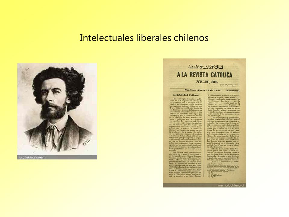 Intelectuales liberales chilenos