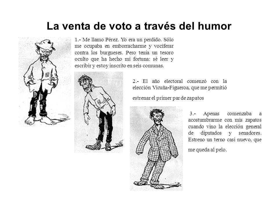 La venta de voto a través del humor