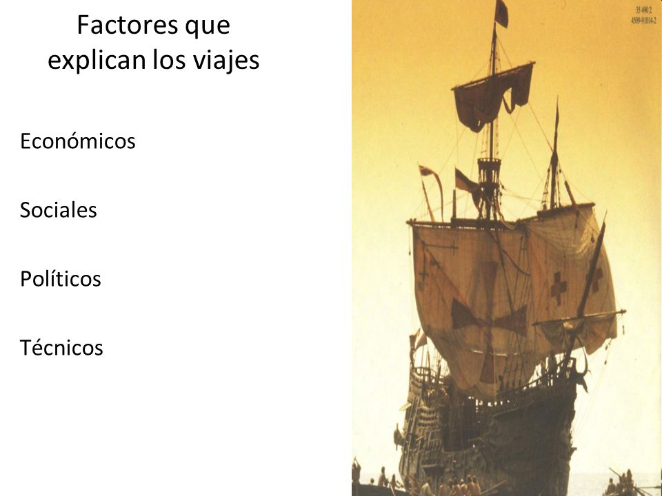 Factores que explican los viajes