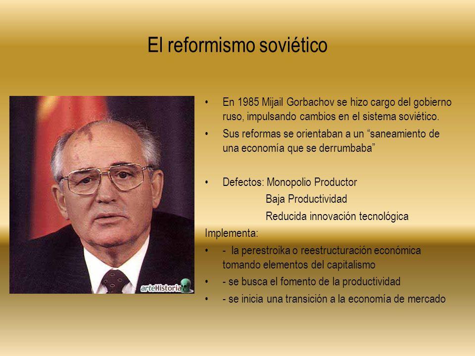 El reformismo soviético