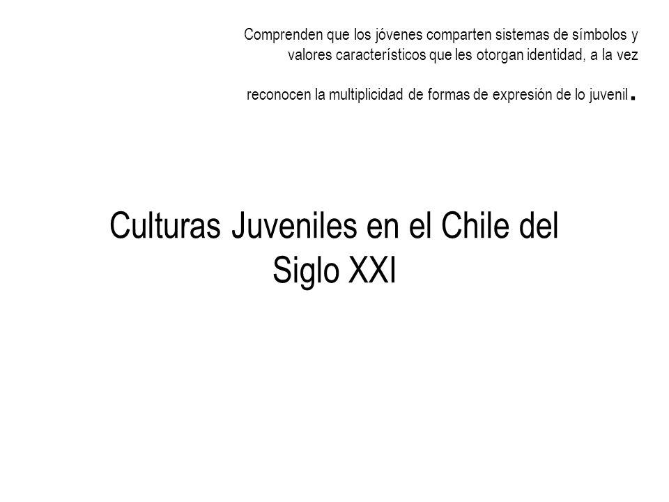 Culturas Juveniles en el Chile del Siglo XXI