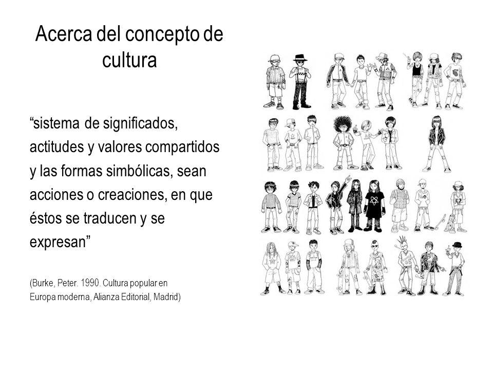 Acerca del concepto de cultura