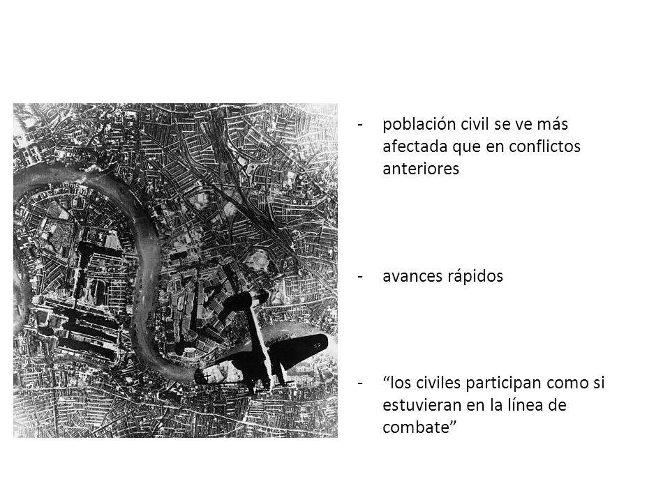 población civil se ve más afectada que en conflictos anteriores
