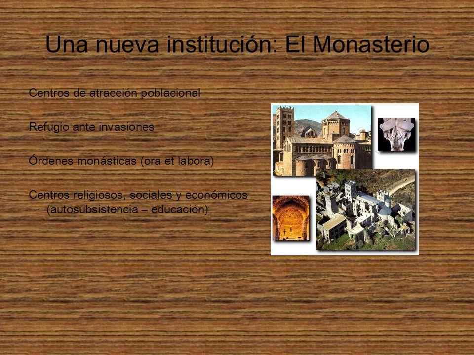 Una nueva institución: El Monasterio