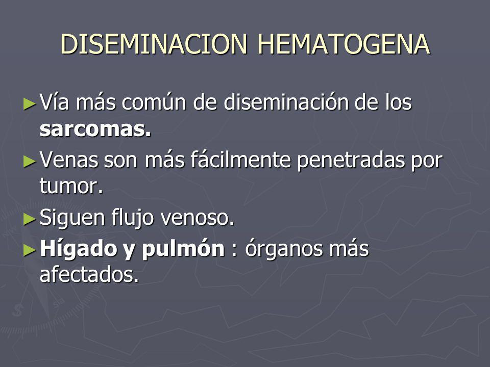 DISEMINACION HEMATOGENA
