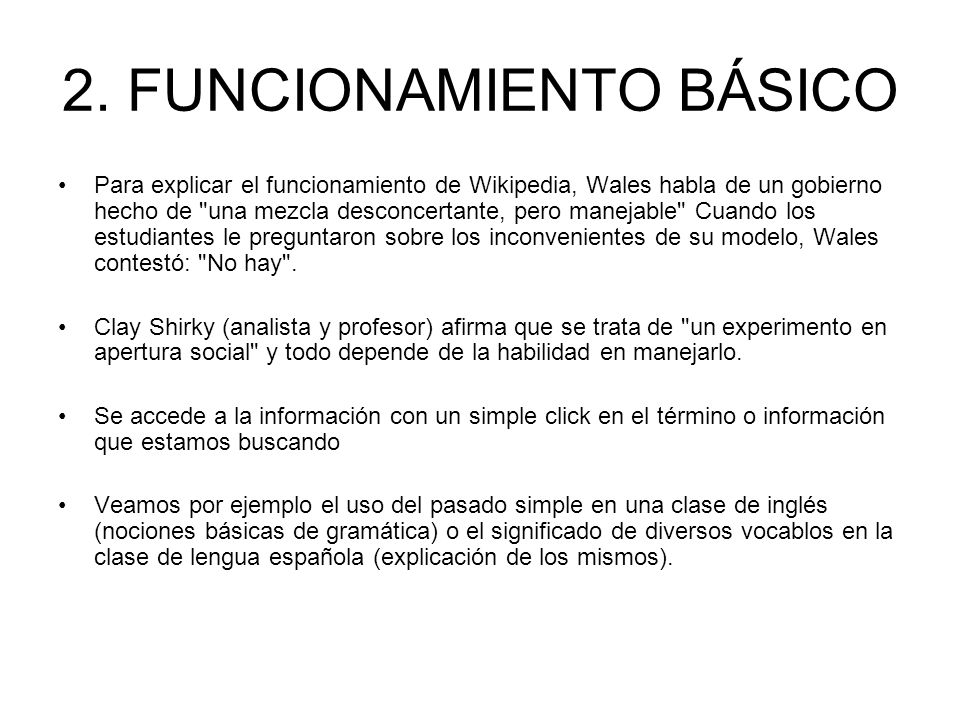 2. FUNCIONAMIENTO BÁSICO