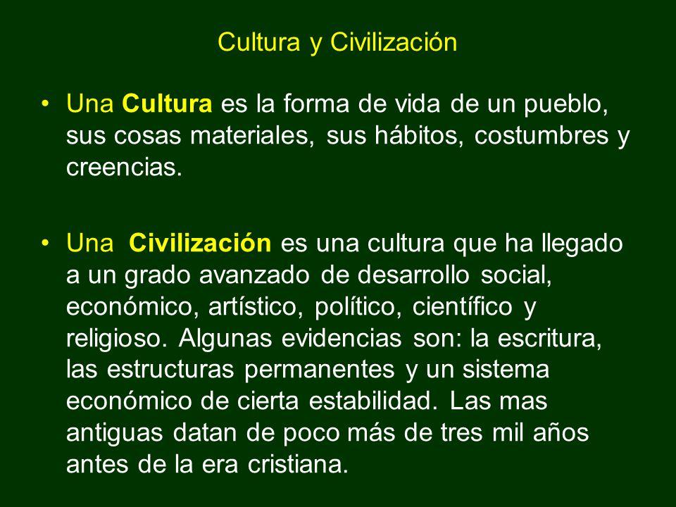 Cultura y Civilización