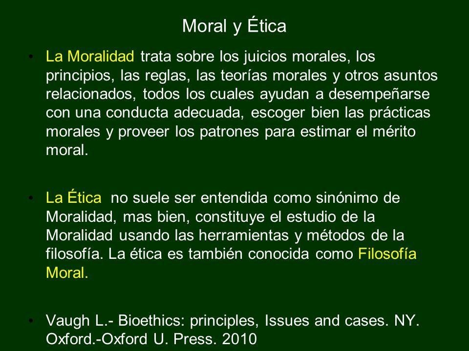 Moral y Ética