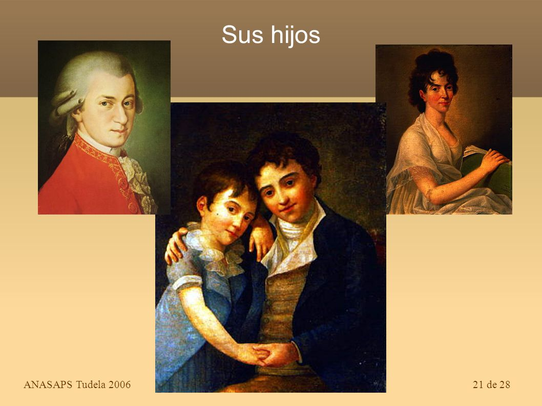 Sus hijos ANASAPS Tudela 2006