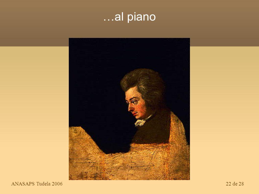 …al piano ANASAPS Tudela 2006