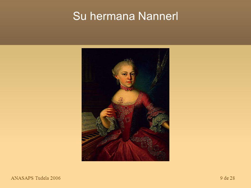 MOZART Su hermana Nannerl Theme created by