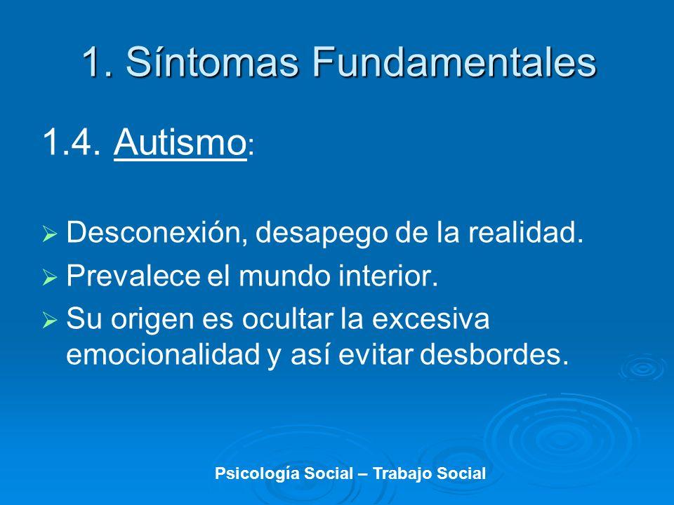 1. Síntomas Fundamentales