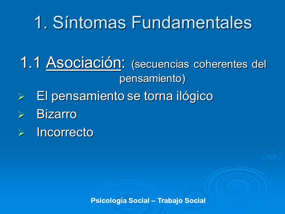 Psicología Social – Trabajo Social