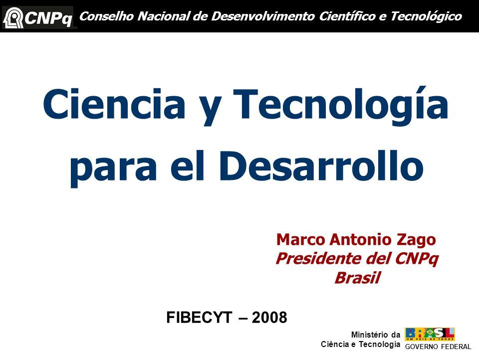 Ciencia y Tecnología para el Desarrollo