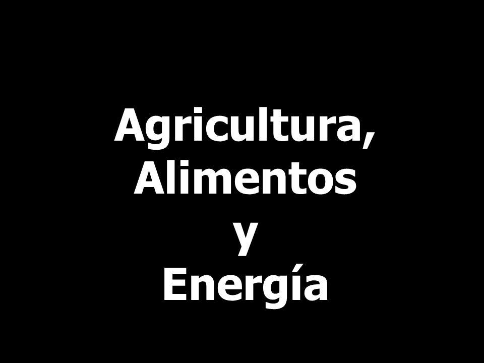 Agricultura, Alimentos y Energía