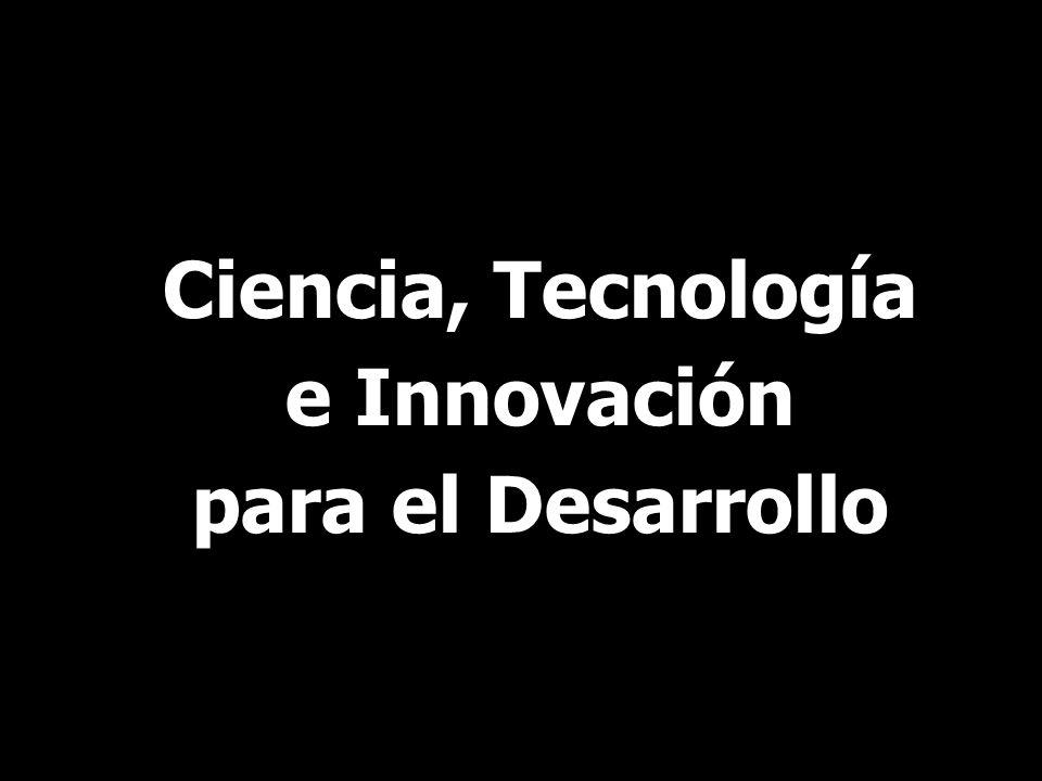 Ciencia, Tecnología e Innovación para el Desarrollo