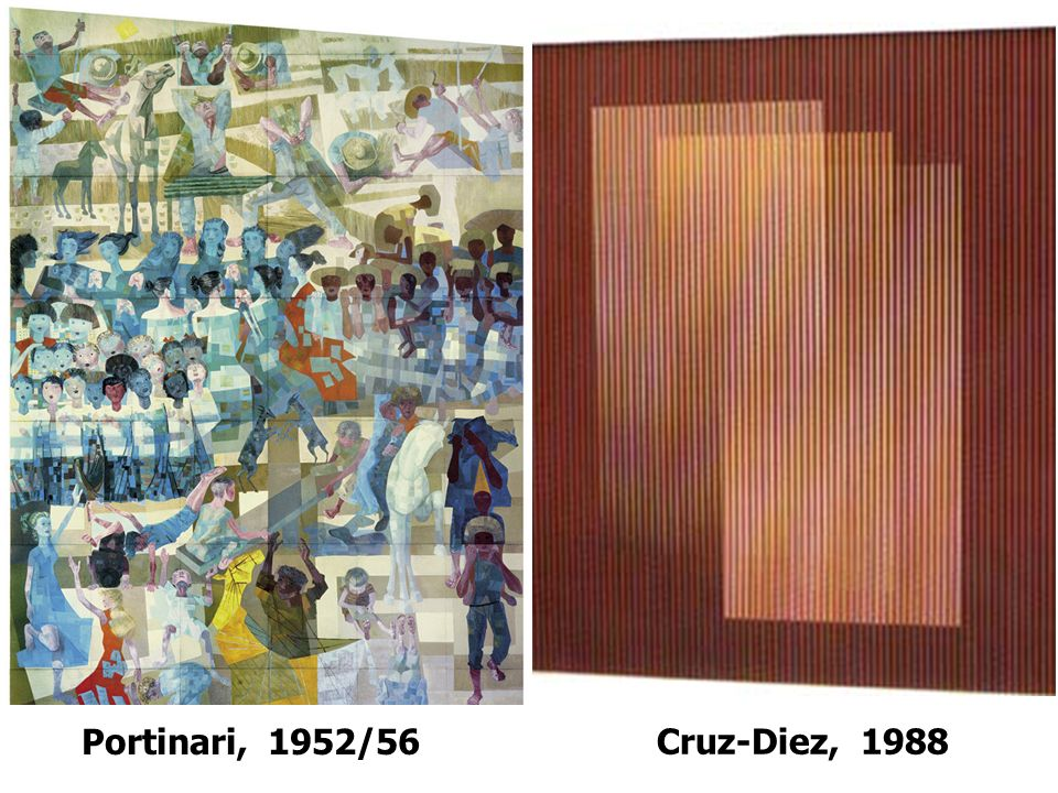 Portinari, 1952/56 Cruz-Diez, 1988