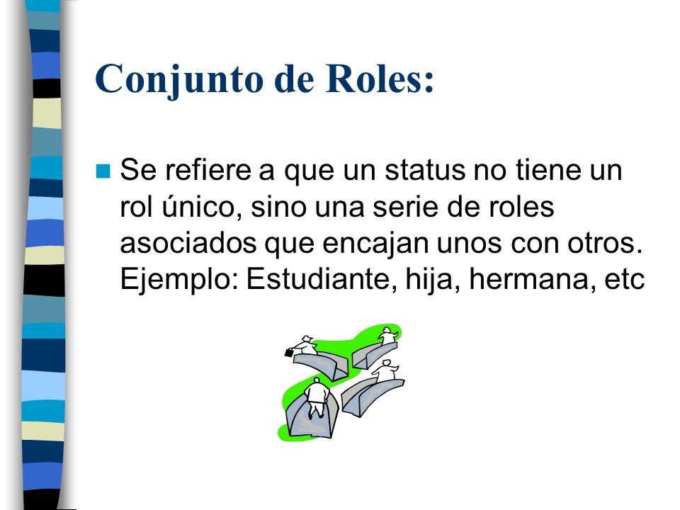 Conjunto de Roles: