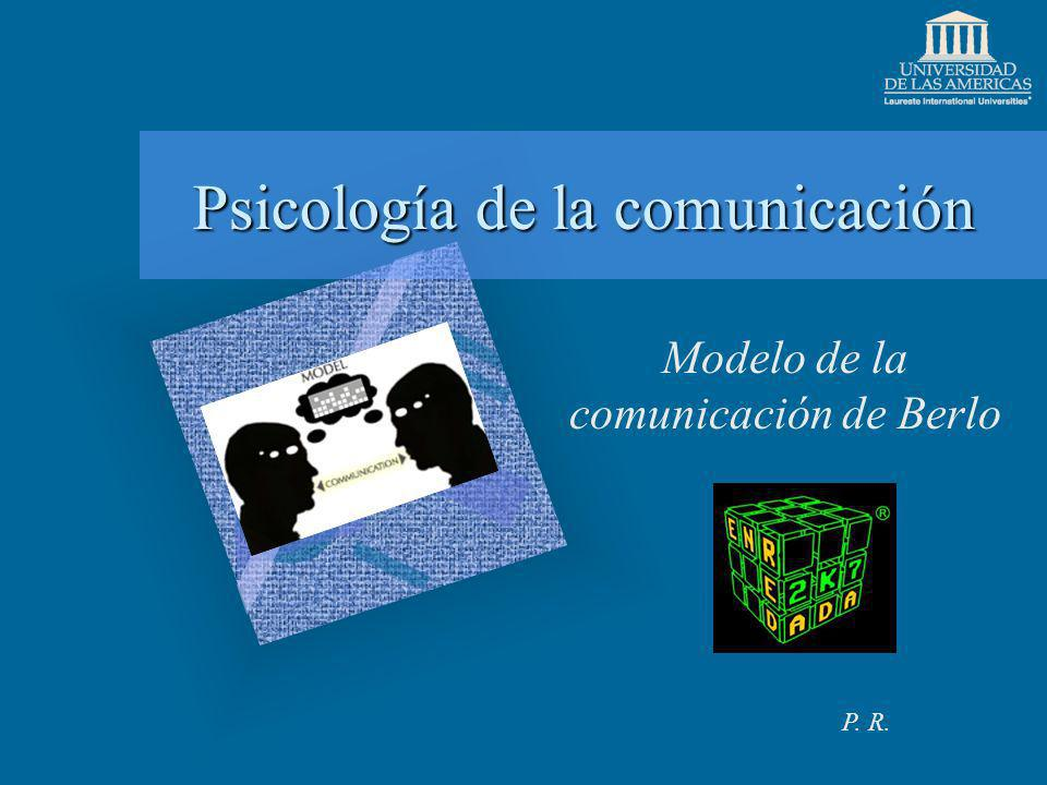Psicología de la comunicación