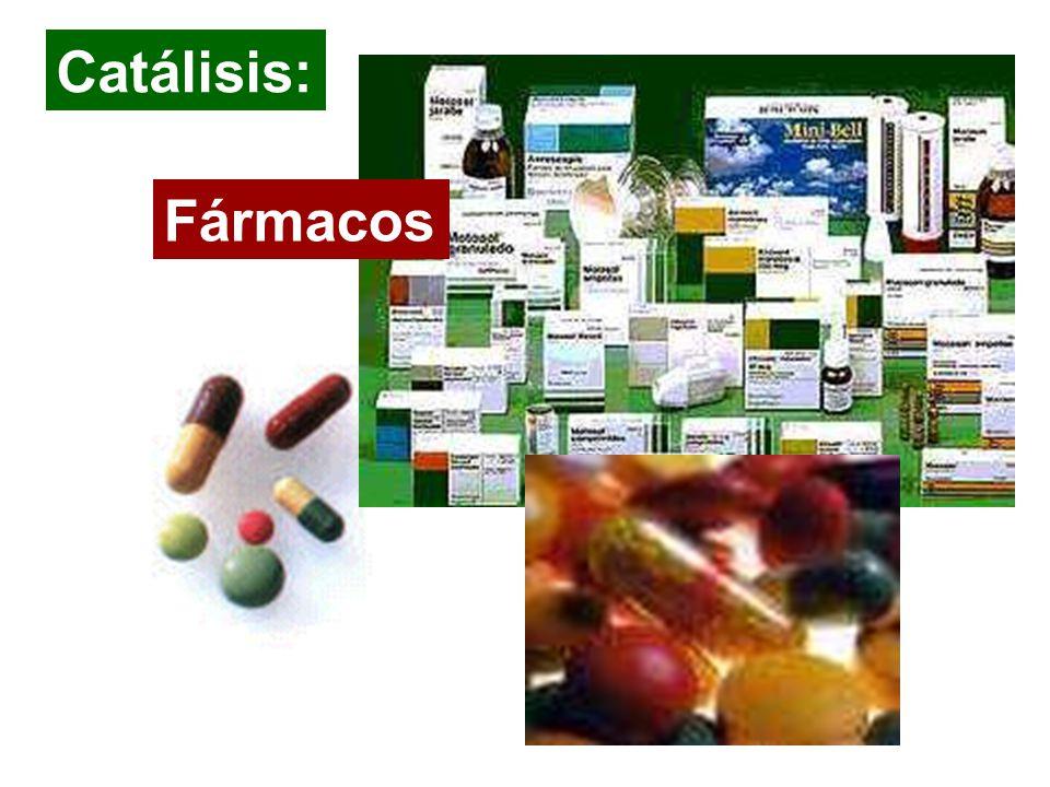 Catálisis: Fármacos