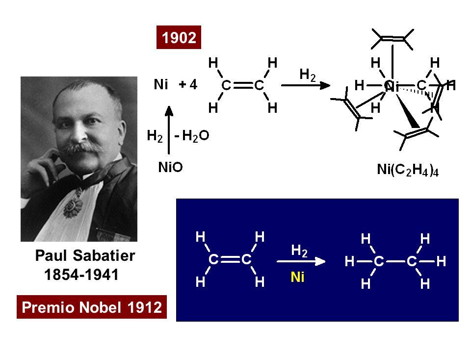 1902 Premio Nobel 1912 Paul Sabatier 1854-1941