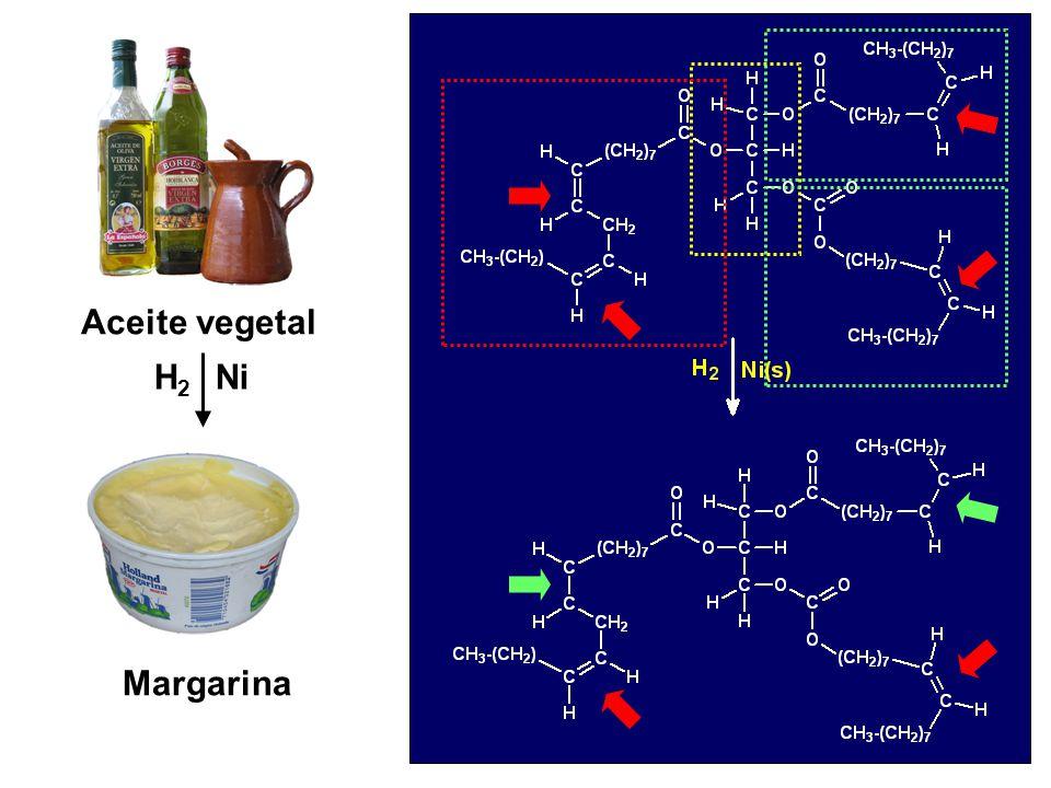 Aceite vegetal H2 Ni Margarina Triglicerido