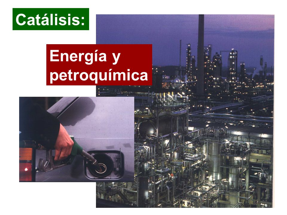 Catálisis: Energía y petroquímica