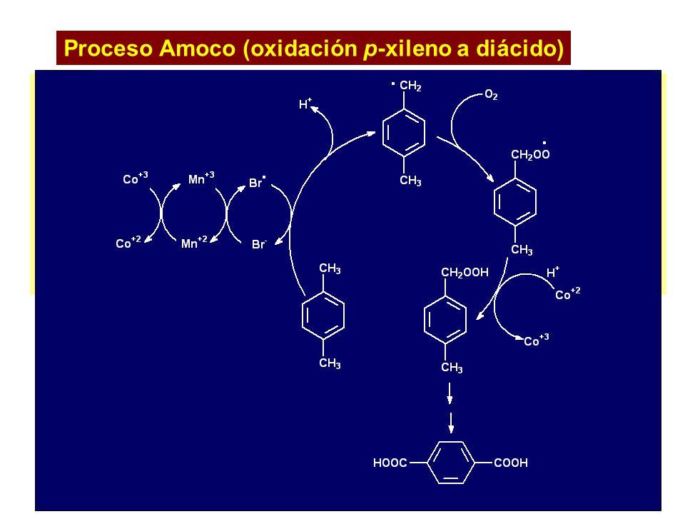 Proceso Amoco (oxidación p-xileno a diácido)