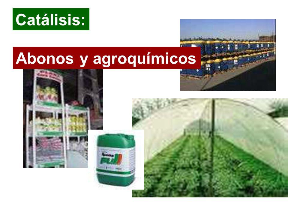 Catálisis: Abonos y agroquímicos