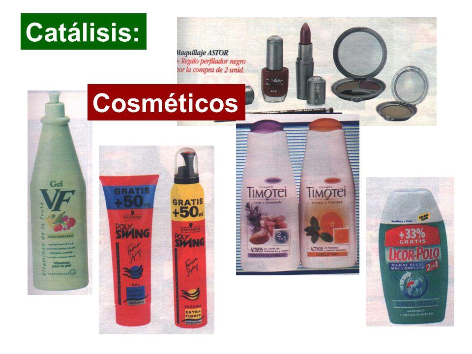 Catálisis: Cosméticos Detergentes y cosmeticos : higiene y salud