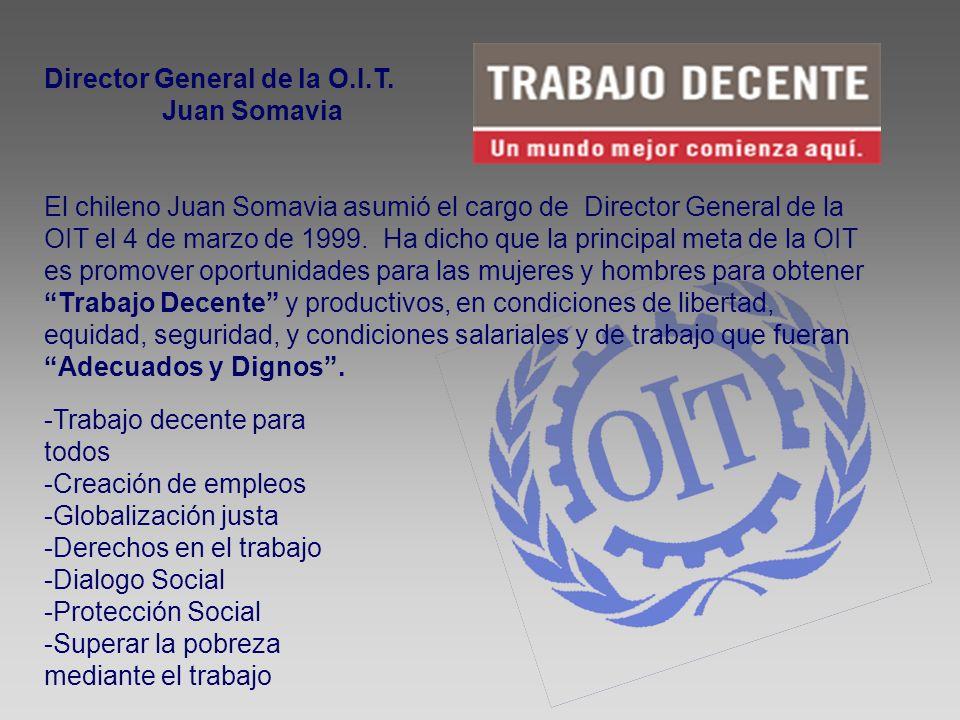 Director General de la O.I.T.