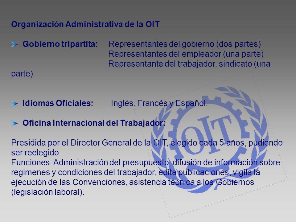 Organización Administrativa de la OIT