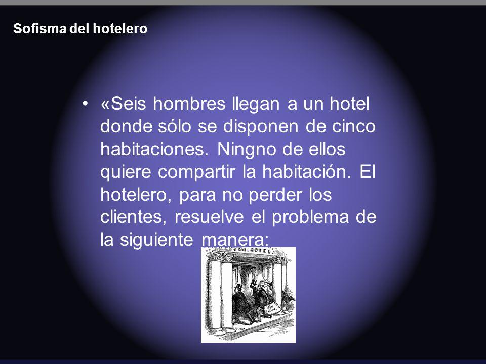 Sofisma del hotelero