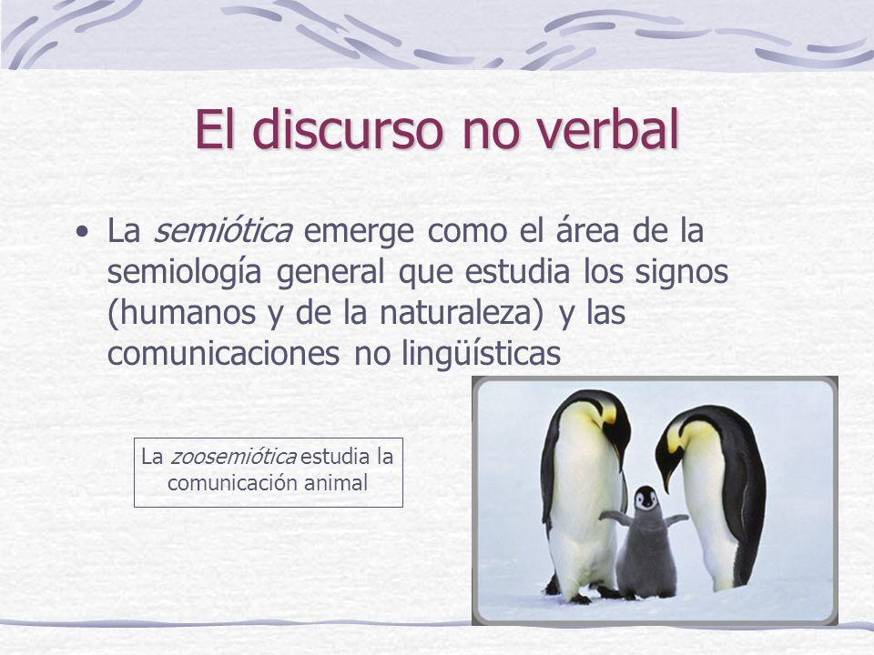 La zoosemiótica estudia la comunicación animal