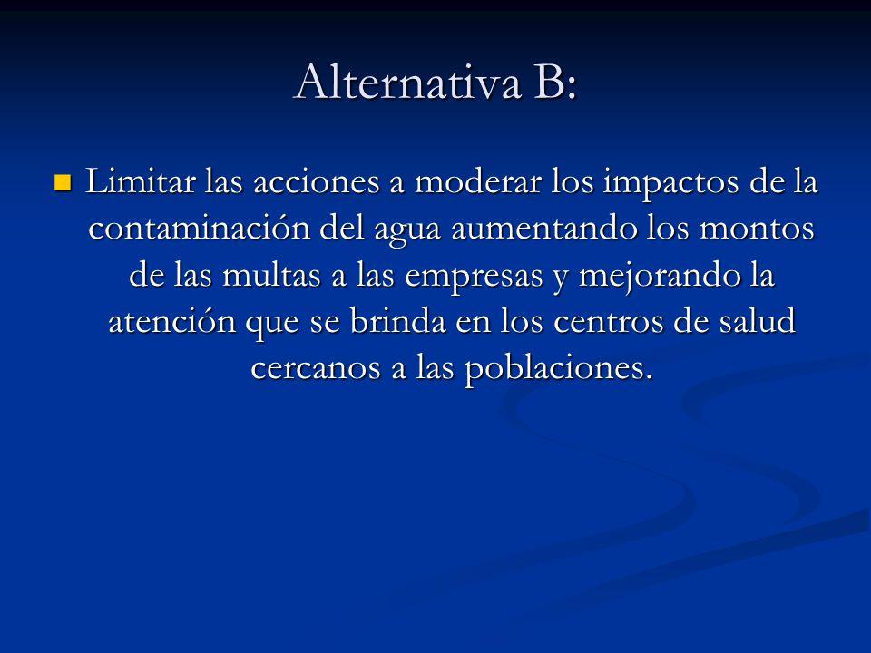 Alternativa B: