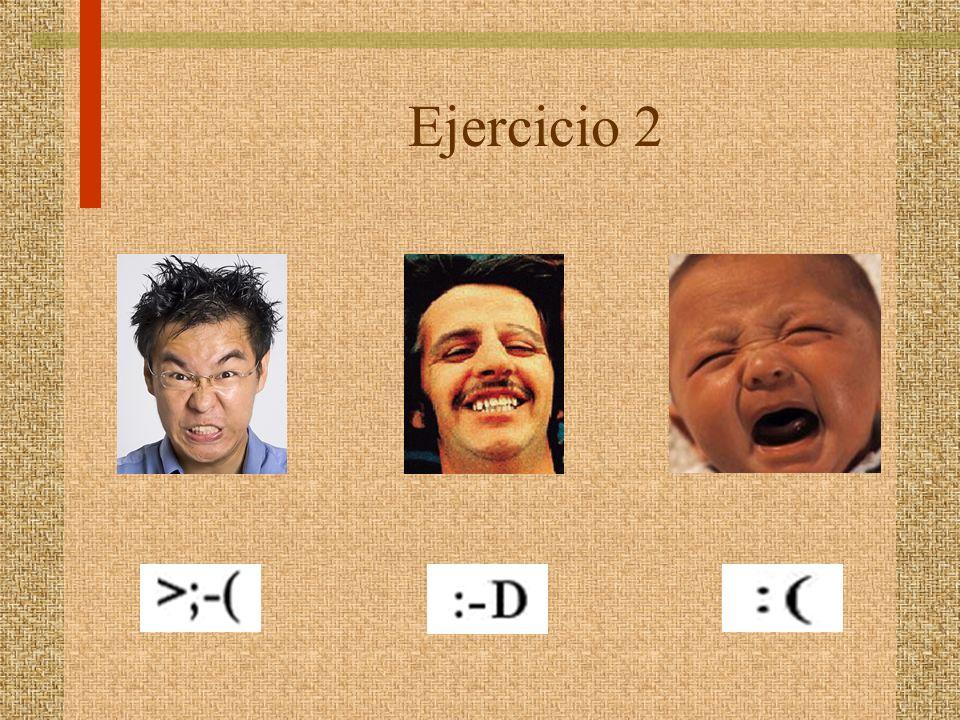 Ejercicio 2