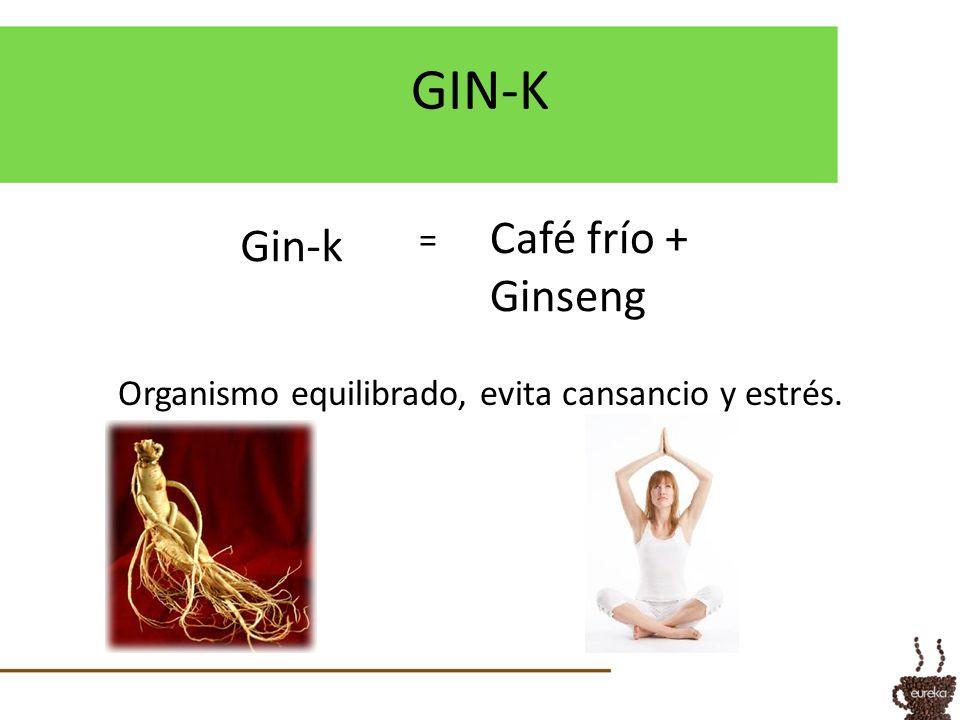 Organismo equilibrado, evita cansancio y estrés.