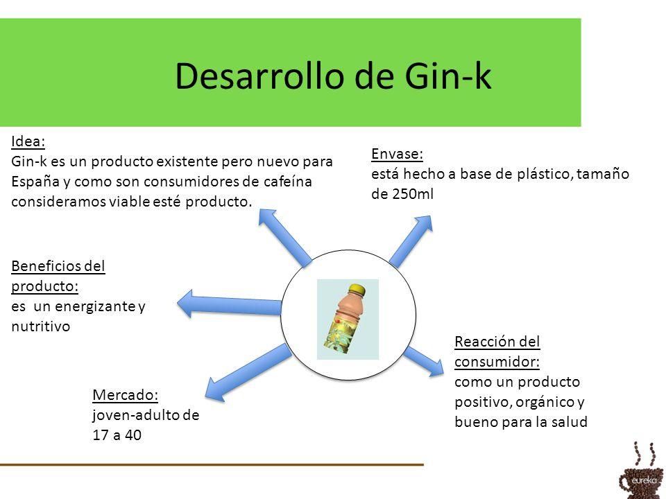 Desarrollo de Gin-k Idea:
