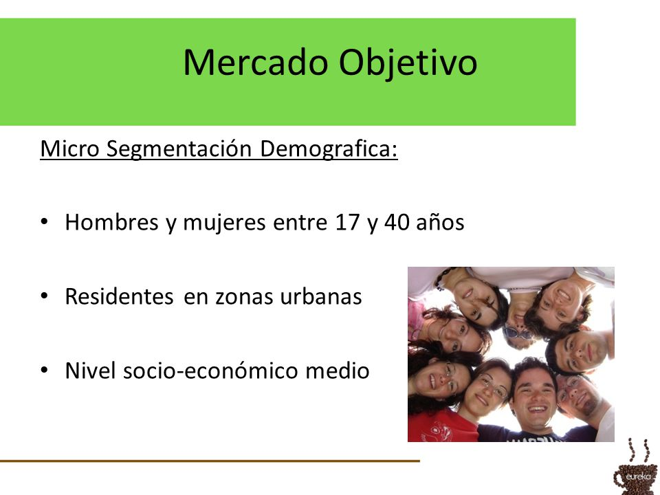 Mercado Objetivo Micro Segmentación Demografica: