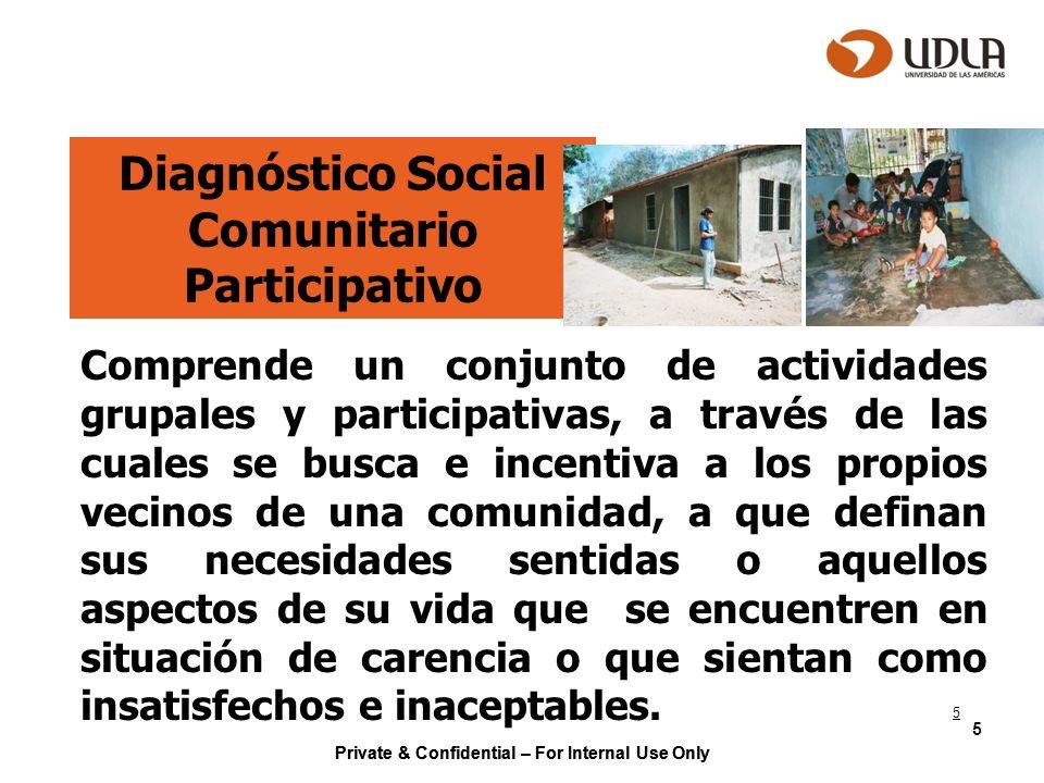 Diagnóstico Social Comunitario Participativo