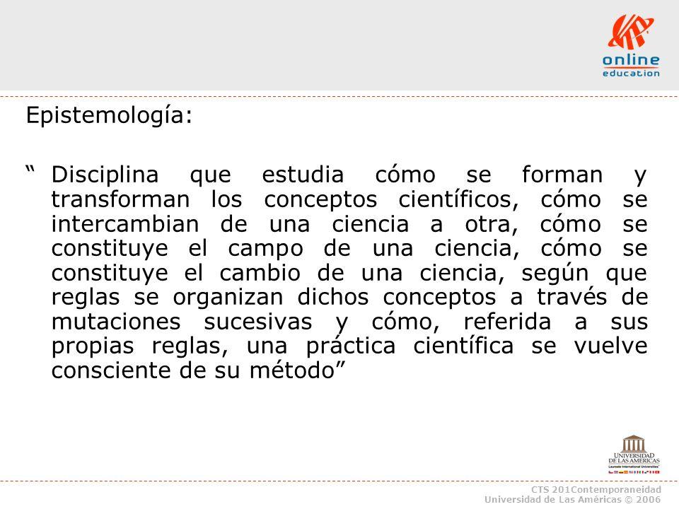 Epistemología: