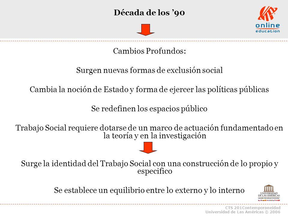 Surgen nuevas formas de exclusión social