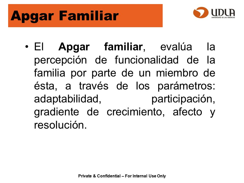 Apgar Familiar