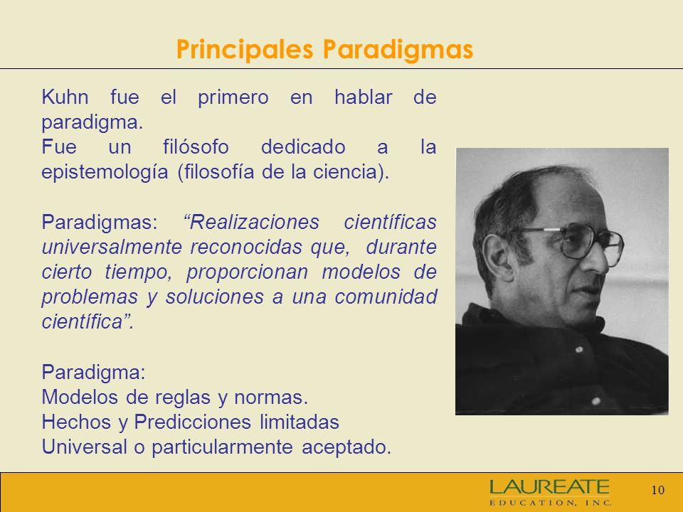 Principales Paradigmas