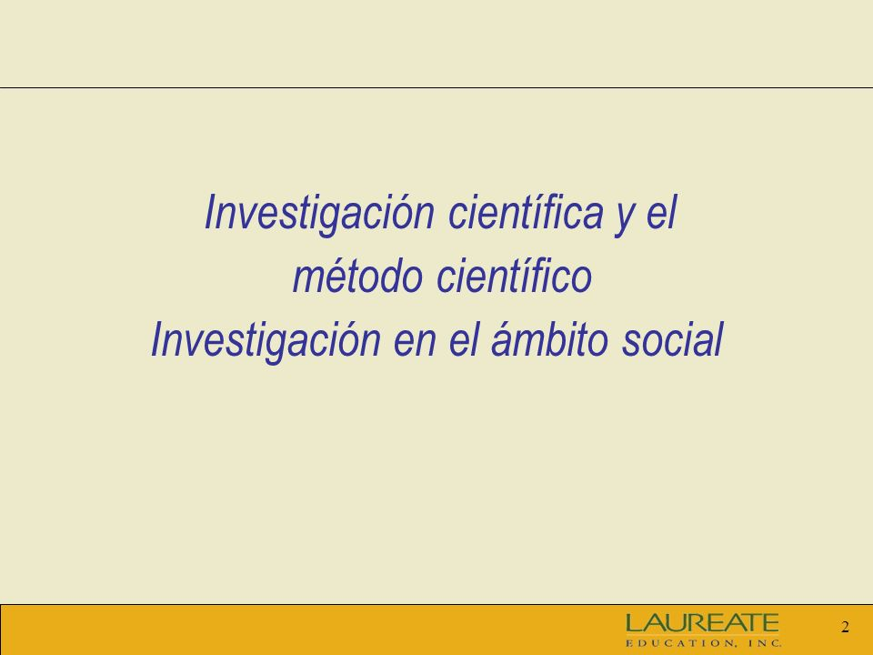 Investigación en el ámbito social